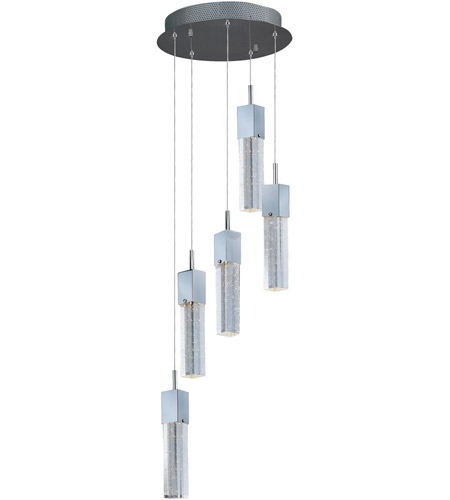 ET2 E22765-89PC Fizz III LED 14 inch Polished Chrome LED Pendant Ceiling Light photo