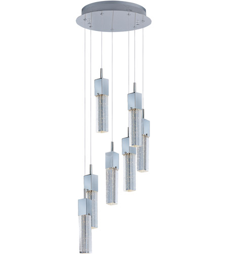 ET2 E22767-89PC Fizz III LED 14 inch Polished Chrome LED Pendant Ceiling Light photo