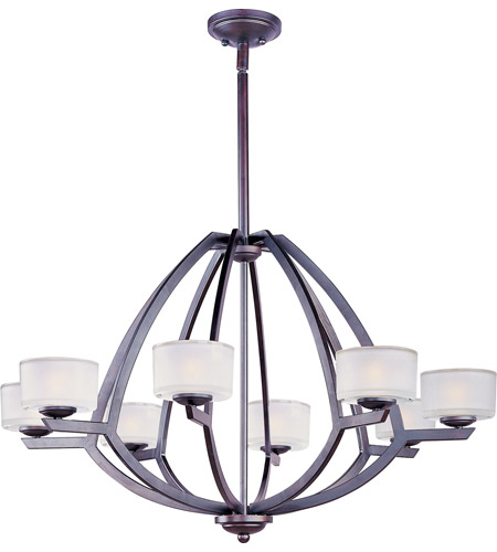 ET2 Vortex 8-Light Pendant in Oil Rubbed Bronze E22806-09OI photo
