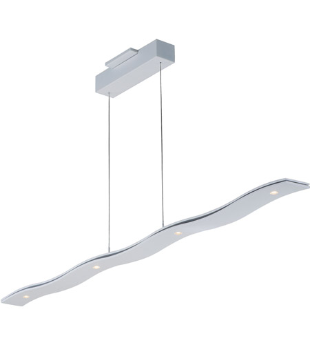 ET2 E22824-MW Roller 1 Light 51 inch Matte White Linear Pendant Ceiling Light  photo