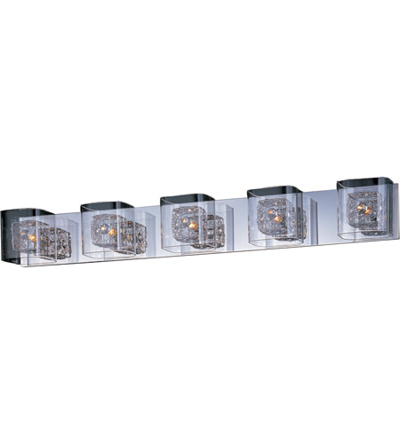 ET2 Gem 5 Light Bath Light in Polished Chrome E22835-18PC photo