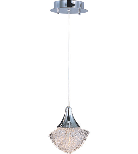 ET2 E23003-20PC Blossom 1 Light 5 inch Polished Chrome Pendant Ceiling Light photo