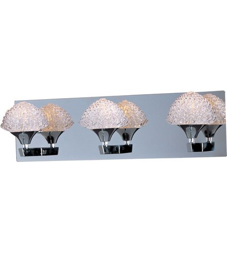 ET2 Blossom 3 Light Bath Light in Polished Chrome E23013-20PC photo