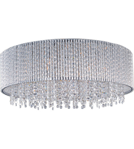 Et2 e23132 10pc spiral 10 light 22 inch polished chrome flush mount et2 e23132 10pc spiral 10 light 22 inch polished chrome flush mount ceiling light aloadofball Choice Image