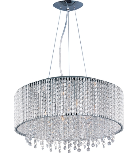Et2 e23137 10pc spiral 10 light 23 inch polished chrome pendant et2 e23137 10pc spiral 10 light 23 inch polished chrome pendant ceiling light aloadofball Choice Image