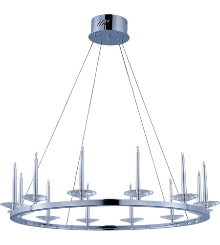 ET2 Circolo 12 Light Pendant in Polished Chrome E23184-20PC photo