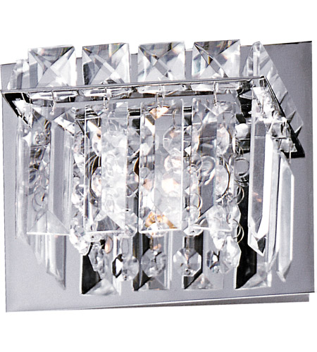 ET2 E23251-20PC Bangle 1 Light 6 inch Polished Chrome Bath Light Wall Light in 6.25 in. photo