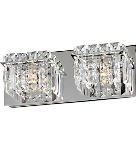 Chrome Bangle Bathroom Vanity Lights