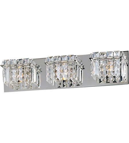 ET2 E23253-20PC Bangle 3 Light 20 inch Polished Chrome Bath Light Wall Light in 20.25 in. photo