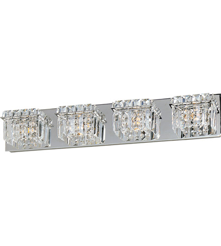 ET2 E23254-20PC Bangle 4 Light 27 inch Polished Chrome Bath Light Wall Light in 27.25 in. photo