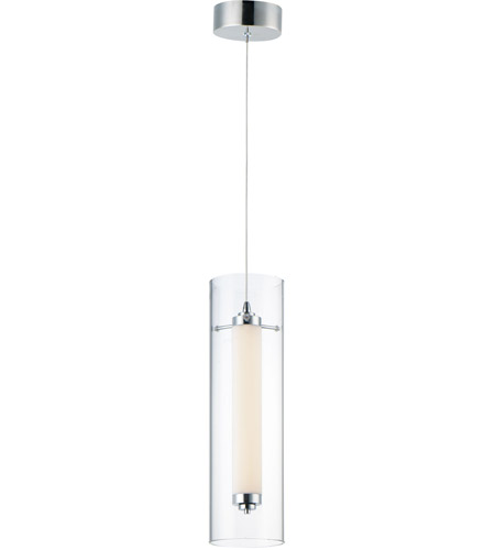 ET2 E23310-24PC Centrum 1 Light 5 inch Polished Chrome Mini Pendant Ceiling Light photo thumbnail
