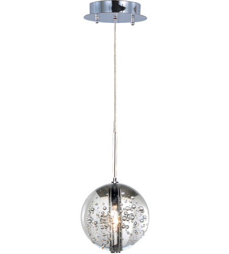 ET2 E24251-91PC Orb 1 Light 5 inch Polished Chrome Pendant Ceiling Light photo