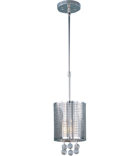 ET2 E24384-91PC Illusion 1 Light 7 inch Polished Chrome Mini Pendant Ceiling Light photo