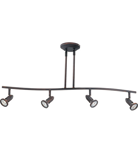 ET2 Agron 4-Light Linear Pendant in Bronze E30016-10 photo