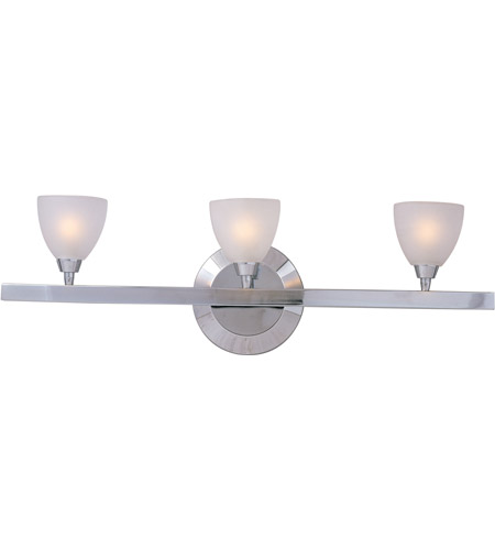 ET2 Fuse 3-Light Bath Vanity in Polished Chrome E30020-11 photo