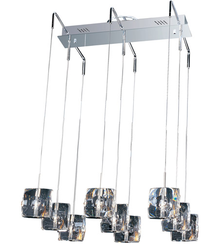 ET2 E30509-20 Neo 9 Light 22 inch Polished Chrome Linear Pendant Ceiling Light photo