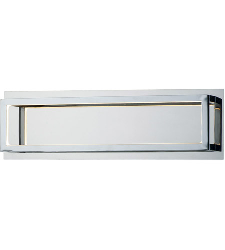ET2 E30592-PC 4 Square LED 17 inch Polished Chrome Bath Vanity Wall Light photo thumbnail