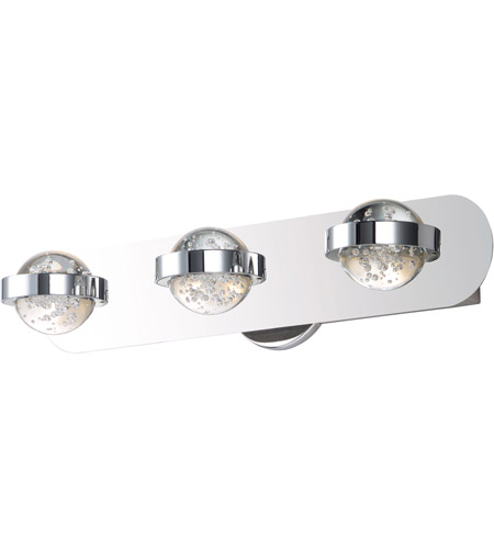 ET2 E30613-91PC Cosmo LED 20 inch Polished Chrome Bath Vanity Wall Light photo