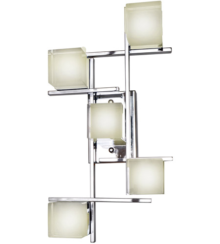 ET2 E31201-75PC Nova LED LED 12 inch Polished Chrome Wall/Flush Mount Wall Light photo
