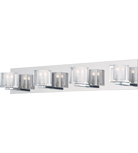 ET2 E32170-18PC Blocs LED LED 28 inch Polished Chrome Vanity Light Wall Light photo