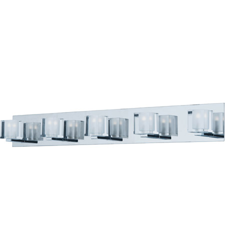 ET2 E32171-18PC Blocs LED LED 36 inch Polished Chrome Vanity Light Wall Light photo