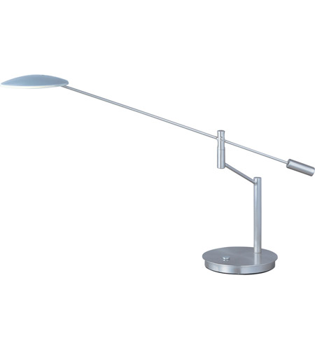 ET2 Eco-Task 1 Light Table Lamp in Satin Nickel E41006-SN photo