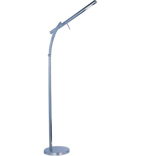 Et2 eco task floor lamp in polished chrome e41044 pc for Task lighting floor lamp