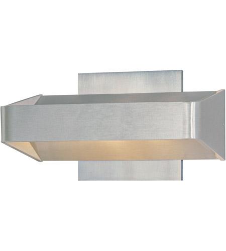 ET Alumilux Light Wall Sconce In Satin Aluminum ESA - 2 light bathroom sconce