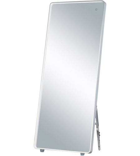 ET2 E42018-90AL Mirror 67 X 28 inch Brushed Aluminum LED Mirror photo