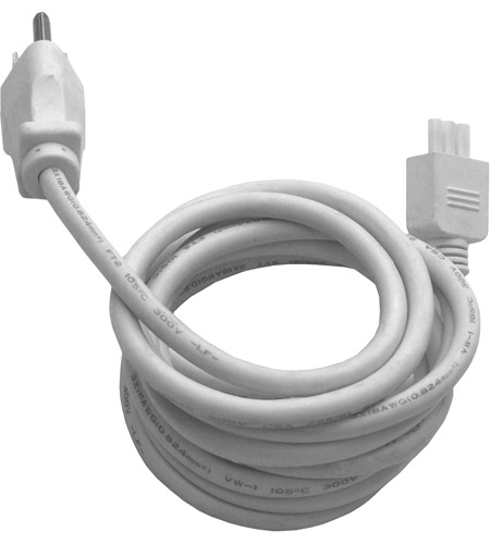 ET2 CounterMax MXInterLink3 6ft Power Cord in White E57860-WT photo