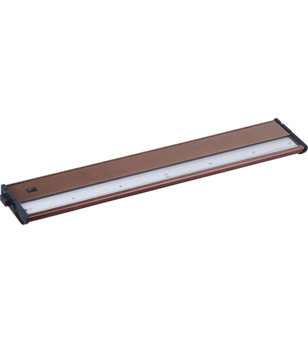 ET2 CounterMax MX-L120DC 21in 6-Light LED Under Cabinet in Metallic Bronze E59914-MB photo