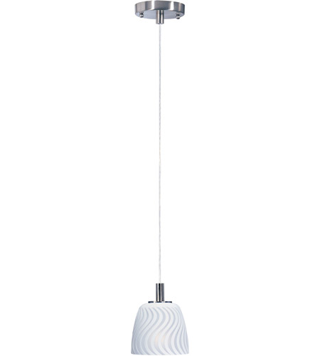 ET2 Carte 1-Light Pendant in Satin Nickel E91111-41 photo