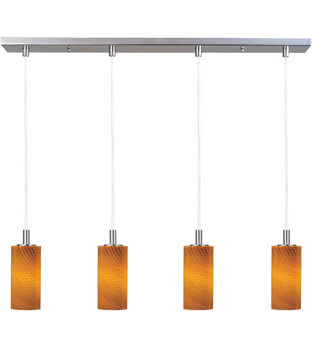 ET2 Carte 4 Light Linear Pendant in Satin Nickel E91154-14 photo