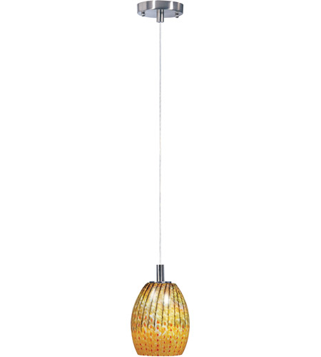 ET2 Carte 1 Light Pendant in Satin Nickel E91171-53 photo