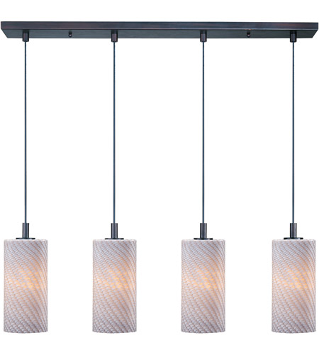 ET2 Carte 4 Light Linear Pendant in Bronze E92054-39 photo