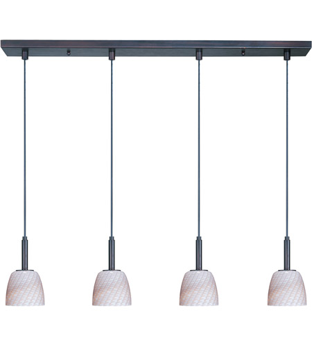 ET2 Carte 4 Light Linear Pendant in Bronze E94014-39 photo