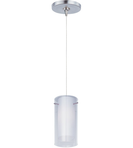 ET2 E94444-10SN Frost 1 Light 5 inch Satin Nickel Mini Pendant Ceiling Light photo