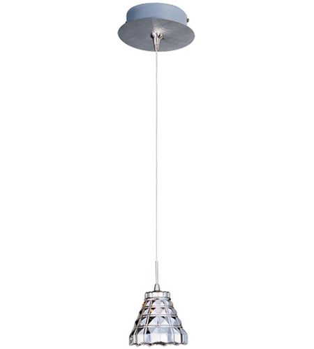 ET2 E94501-20SN Minx 1 Light 5 inch Satin Nickel Mini Pendant Ceiling Light photo