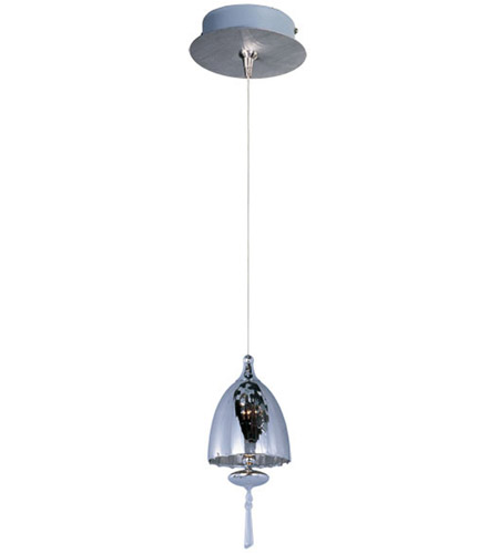 ET2 Minx 1 Light Mini Pendant in Satin Nickel E94526-11SN photo