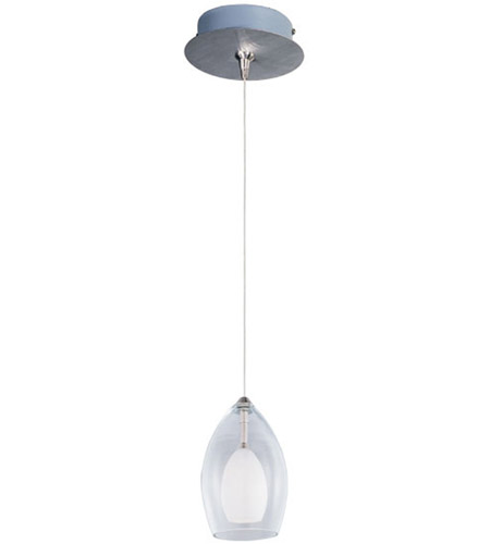 ET2 Minx 1-Light RapidJack Mini Pendant and Canopy in Satin Nickel E94547-10SN photo