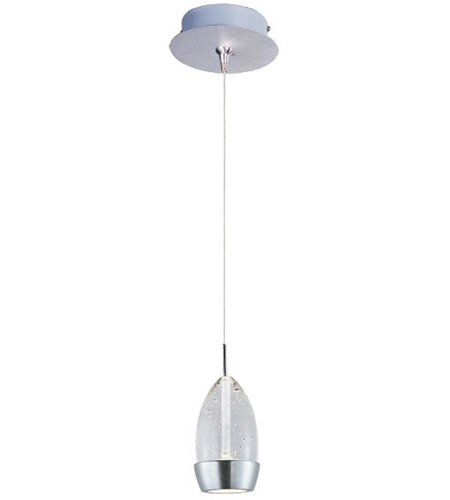 ET2 E94552-91SN Luxe LED 6 inch Satin Nickel Mini Pendant Ceiling Light photo