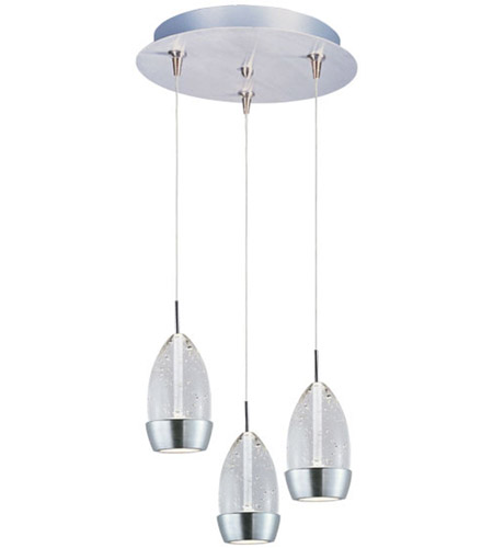 ET2 Luxe 3 Light Multi-Light Pendant in Satin Nickel E94652-91SN photo