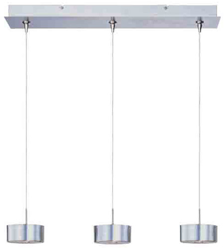 ET2 Minx 3 Light Linear Pendant in Satin Nickel E94808-09SN photo