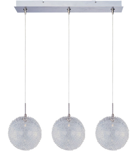 ET2 Minx 3 Light Linear Pendant in Satin Nickel E94817-78SN photo
