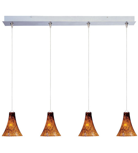 ET2 Minx 4 Light Linear Pendant in Satin Nickel E94933-104SN photo