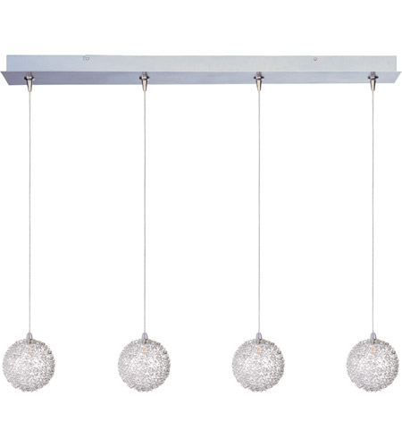 ET2 E94972-78 Starburst 4 Light 35 inch Linear Pendant Ceiling Light in Mesh photo