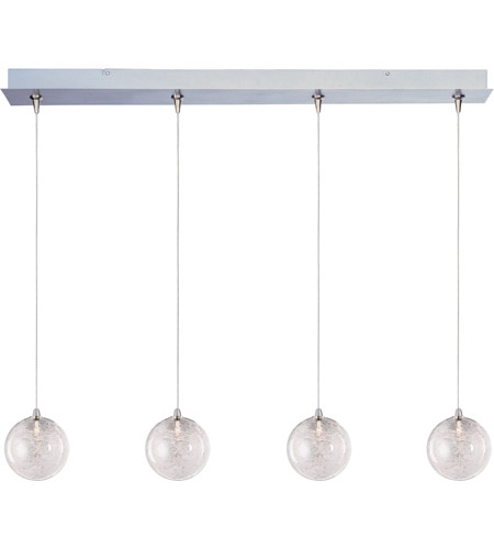 ET2 E94972-79 Starburst 4 Light 35 inch Linear Pendant Ceiling Light in Threaded photo