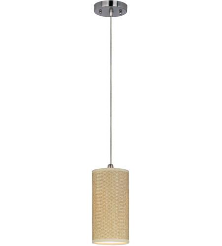 ET2 Elements 1 Light Mini Pendant in Satin Nickel E95020-101SN photo