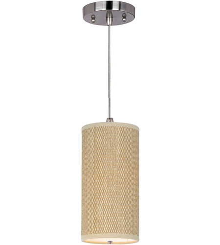 ET2 Elements 1 Light Mini Pendant in Satin Nickel E95030-101SN photo