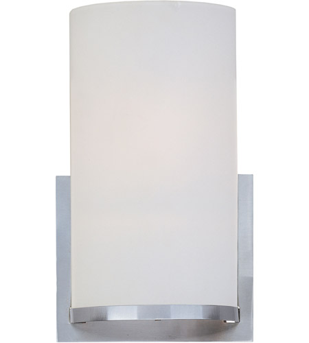 ET2 E95084-92SN Elements 1 Light 7 inch Satin Nickel Wall Sconce Wall Light in Satin White photo